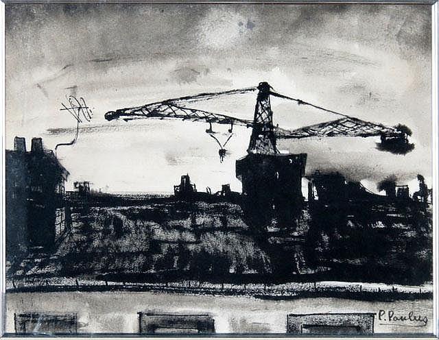 Pierre Paulus De Chatelet Belgian (1881-1959) Ink on Paper