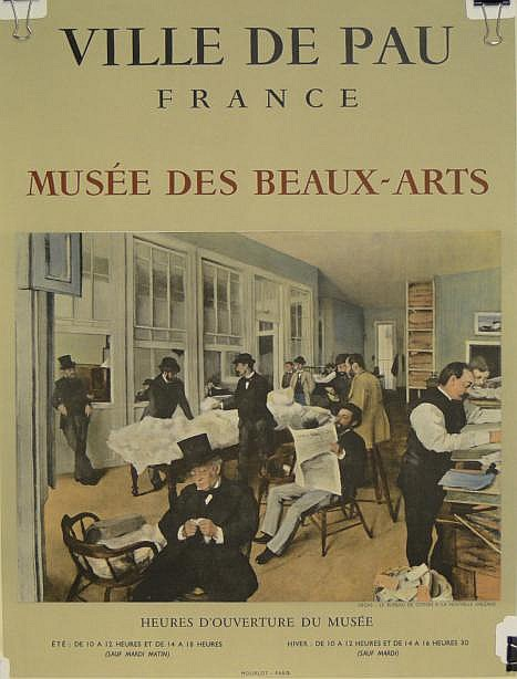 after: Edgar Degas French (1834-1917) Poster
