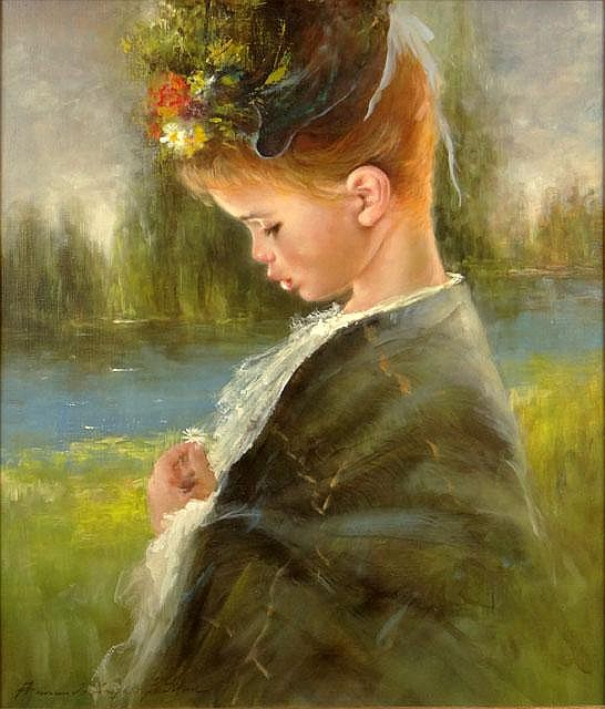 Armando Angelo Gentilini Primarily Known as Armando Gentilli Italian (1909-1981) Oil on Canvas