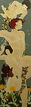 Van Eno American-Florida (1947-1986) Acrylic on Canvas