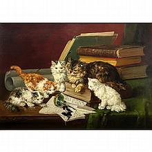 Alfred Arthur Brunel de Neuville, French (1852-1941) Oil on canvas