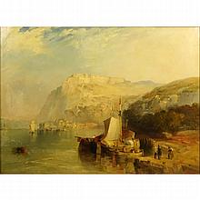 James Baker Pyne, British (1800-1870) Oil painting on canvas