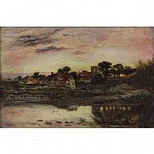 Robert Gallon, British (1845-1925) Oil on canvas