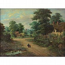 William Stone, British (1830-1875) Oil on canvas