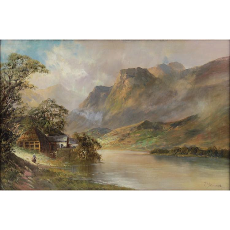 Frank Jameson, British (1898-1968) oil on canvas