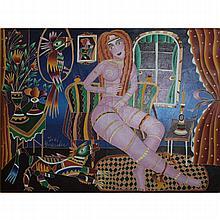 Yuri Gorbachev, Russian/American (born-1948) Oil on Canvas