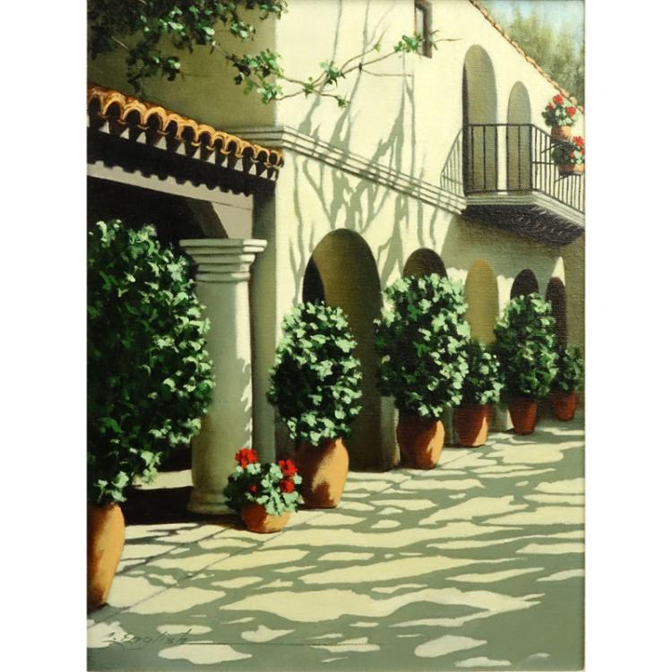Cheryl English, American  (b.1945) Oil on canvas