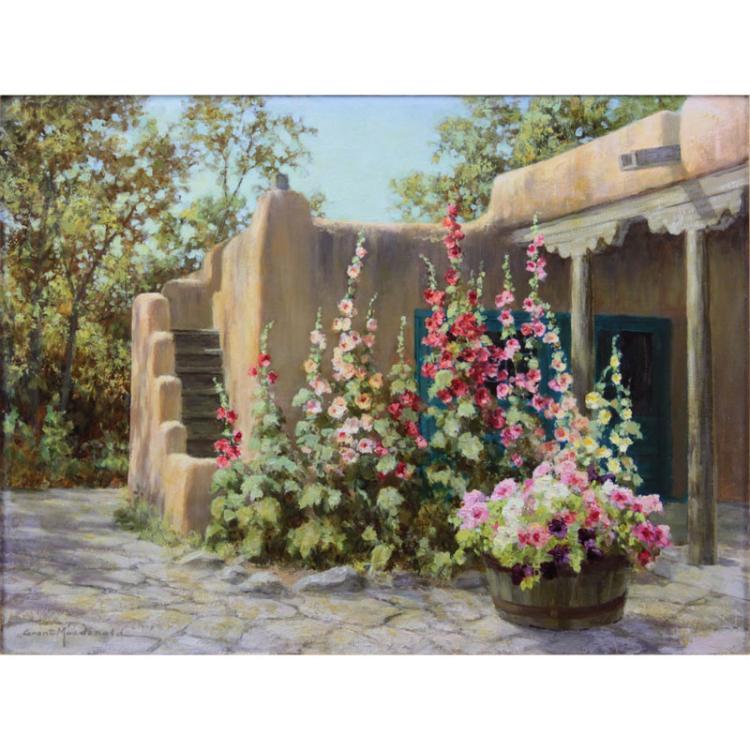 Grant Macdonald, American (b.1944) Oil on canvas