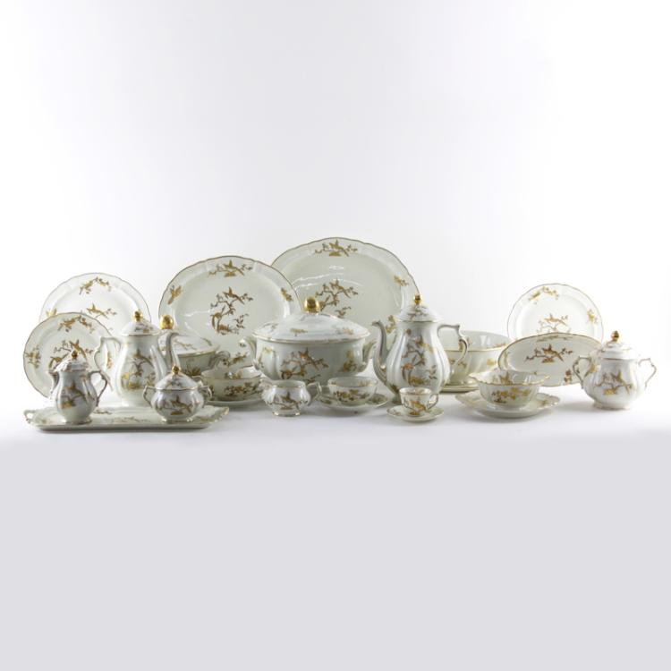 Hundred Twenty-Four (124) Piece Limoges