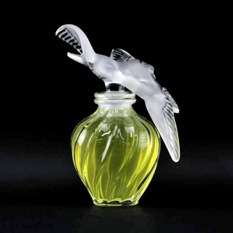 Lalique Clear and Frosted Crystal