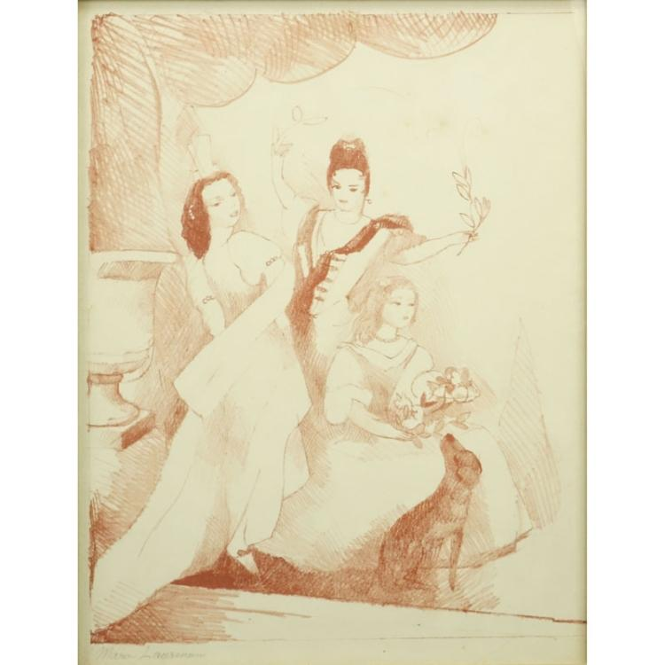 Marie Laurencin, French (1885-1956) Color lithograph
