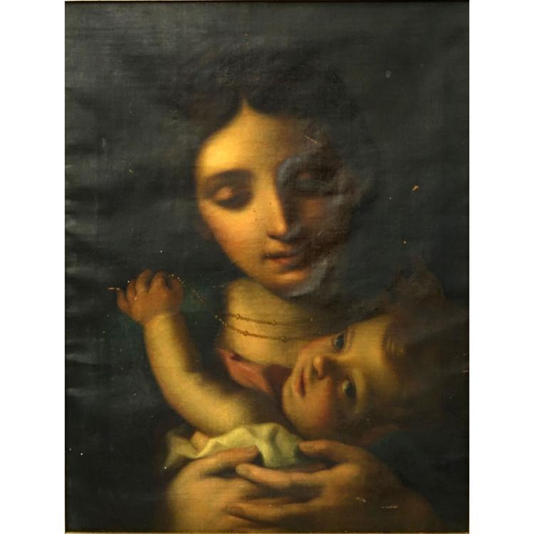 Studio of Giuseppe Angeli, Italian (1712-1798) Oil on Canvas
