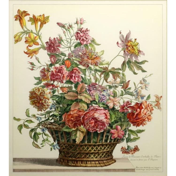 Decorative Botanical Style Print