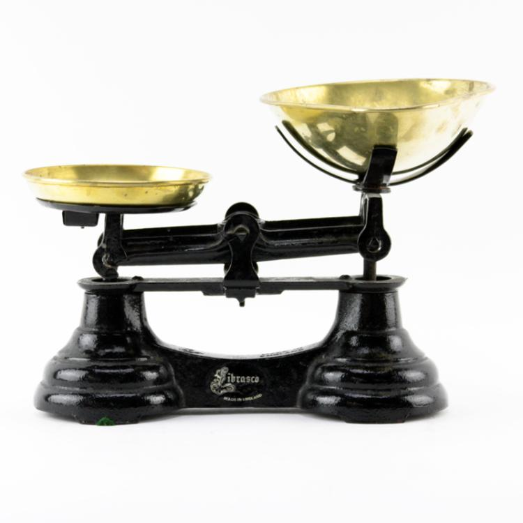 Antique Librasco Cast Iron and Brass Scale