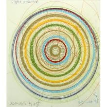 Damien Hirst, British (born 1965) Hand Embellished Etching on paper