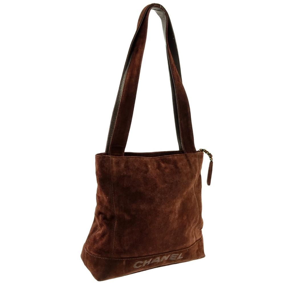 273e236e974e Chanel Vintage Shoulder Bag Front Slip Pocket