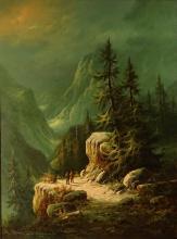 Ludwig Munninger, German (20th century) Oil on canvas