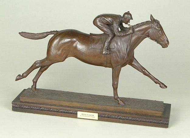 Marylin Newmark American (born1928- ) Bronze