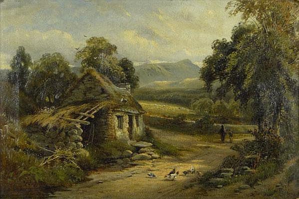 James Lees Bilbie British (died 1945) Oil on Canvas