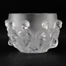 Lalique Crystal Luxembourg Bowl