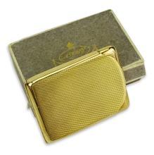 Vintage Asprey 9 Karat Yellow Gold Match Case with Asprey Box