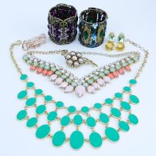 Grouping of Seven (7) Vintage Costume Jewelry