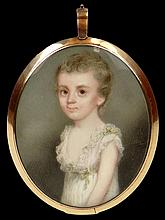 Early 19th Century English Hand Painted Portrait Miniature