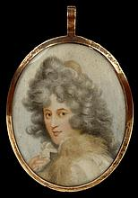 Early 19th Century English Hand Painted Miniature