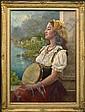 Luigi Amato Italian (1898-1961) Oil on Canvas &#, Luigi (1898) Amato, Click for value
