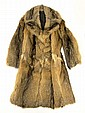 Man's Red Fox Custom Made Coat Size Small. This was Custom Made in Brazil and I have it first Hand that the Gentleman who Owned it Had to Fly to Brazil Four (4) Separate Times for Fittings. I see One (1) Seam in Need of Sewing or else Overall Very