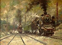 Jaroslav Ronek, Czech (1892-1962) Oil on Canvas