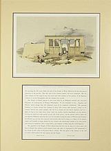 David Roberts, Scottish (1796-1864) Hand Colored Lithograph.