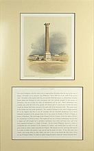 David Roberts, Scottish (1796-1864) Hand Colored Lithograph.