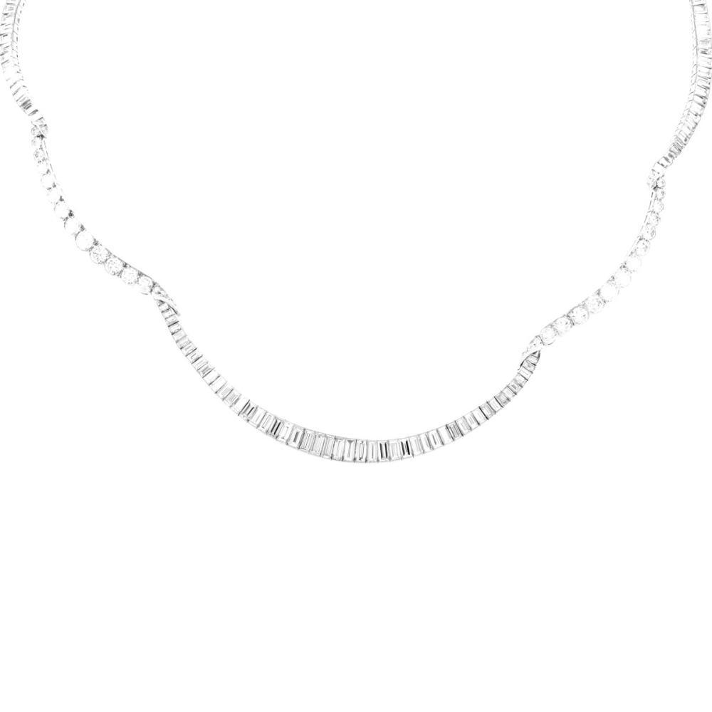 Lot 4: Vintage Van Cleef & Arpels Diamond Necklace