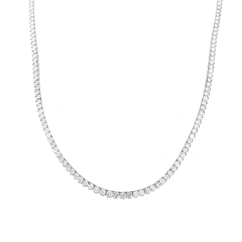 Lot 5: Vintage Van Cleef & Arpels Diamond Necklace