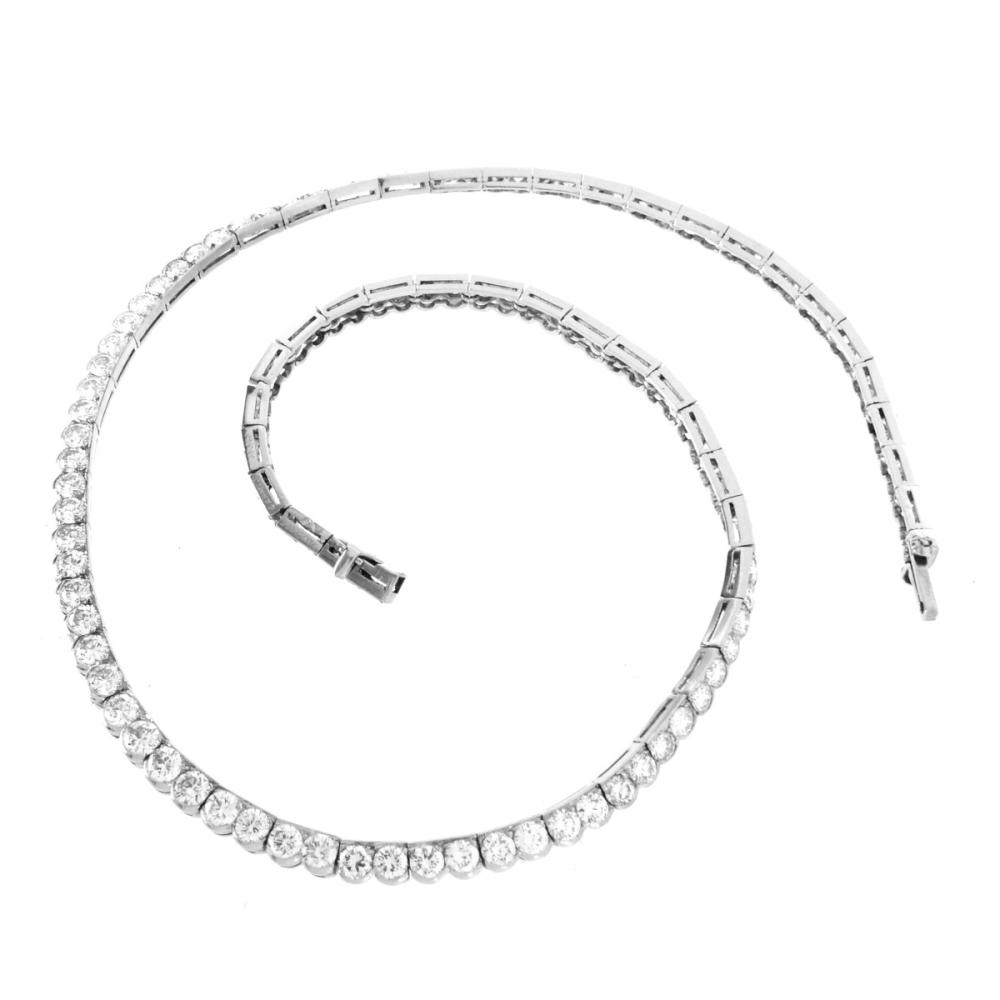 Vintage Van Cleef & Arpels Diamond Necklace