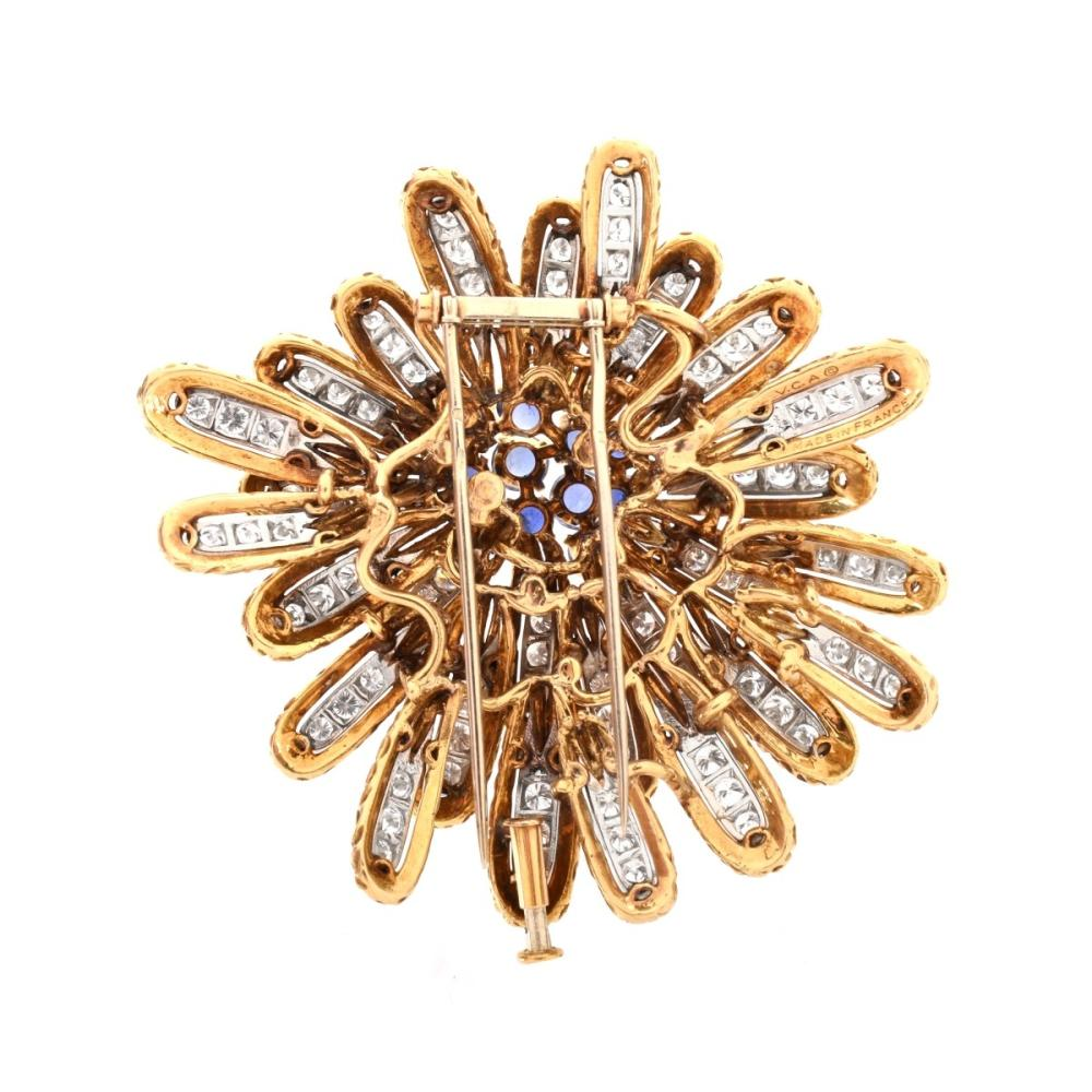Lot 6: Vintage Van Cleef & Arpels Diamond Brooch