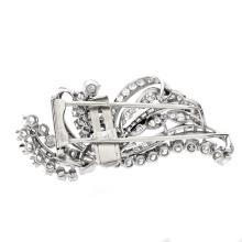Lot 7: Vintage Boucheron Diamond Brooch