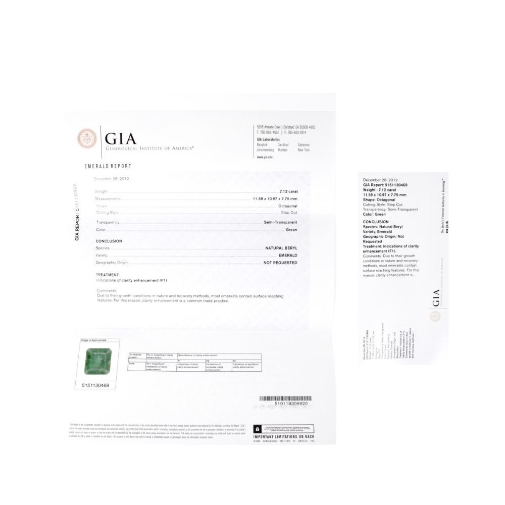 Lot 16: Three GIA Certified Emeralds