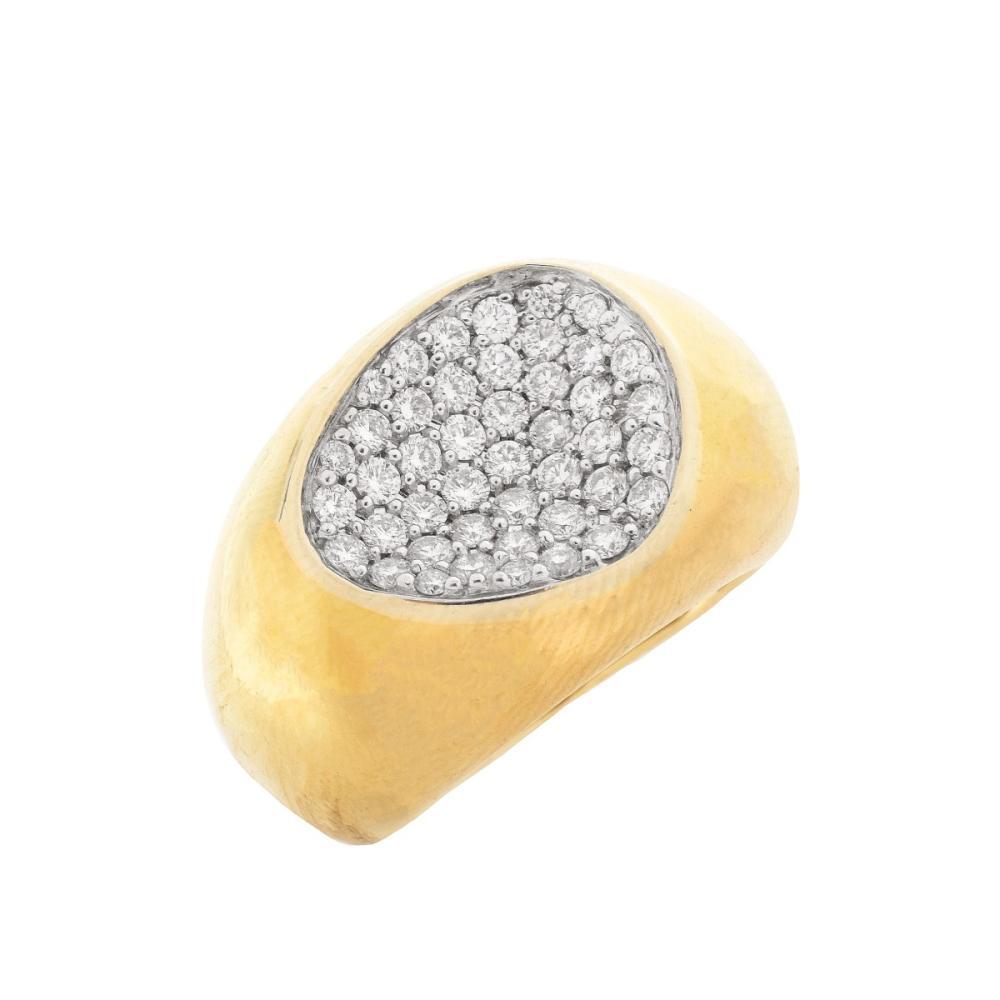 Vintage Roberto Coin Diamond Ring