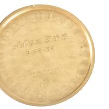 Lot 21: Longines 14K Gold Pocket Watch