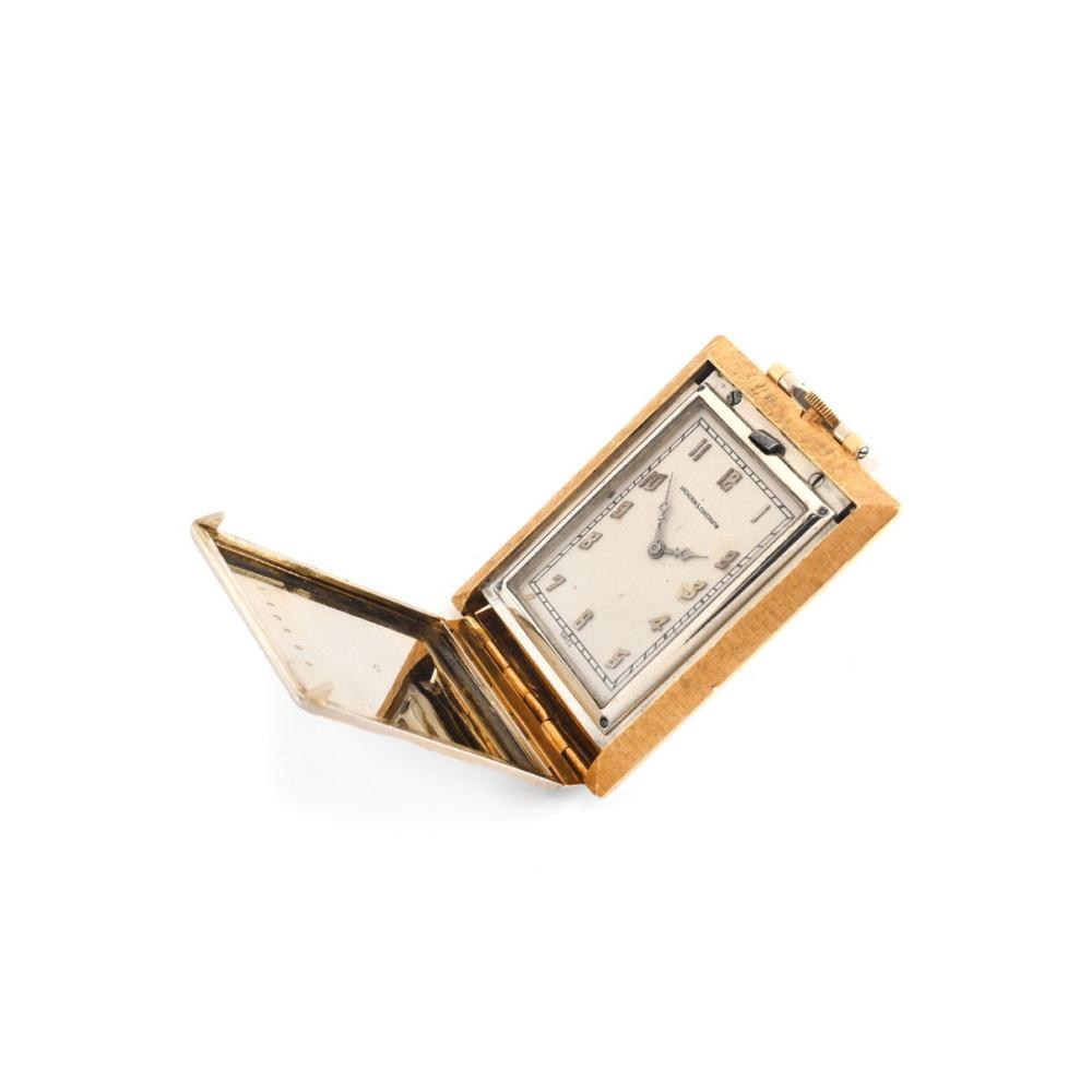 Lot 22: Vacheron Constantin Travel Clock