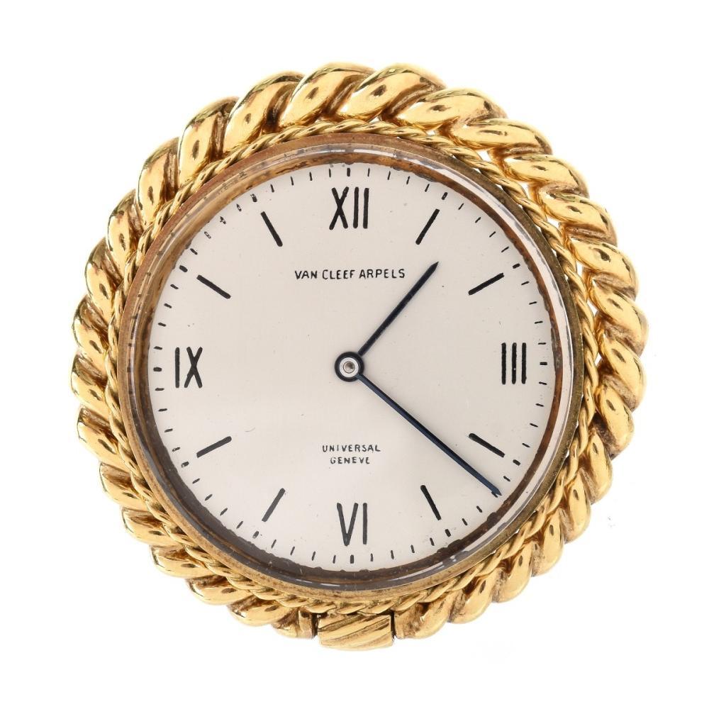 Vintage Van Cleef & Arpels 18K Clock