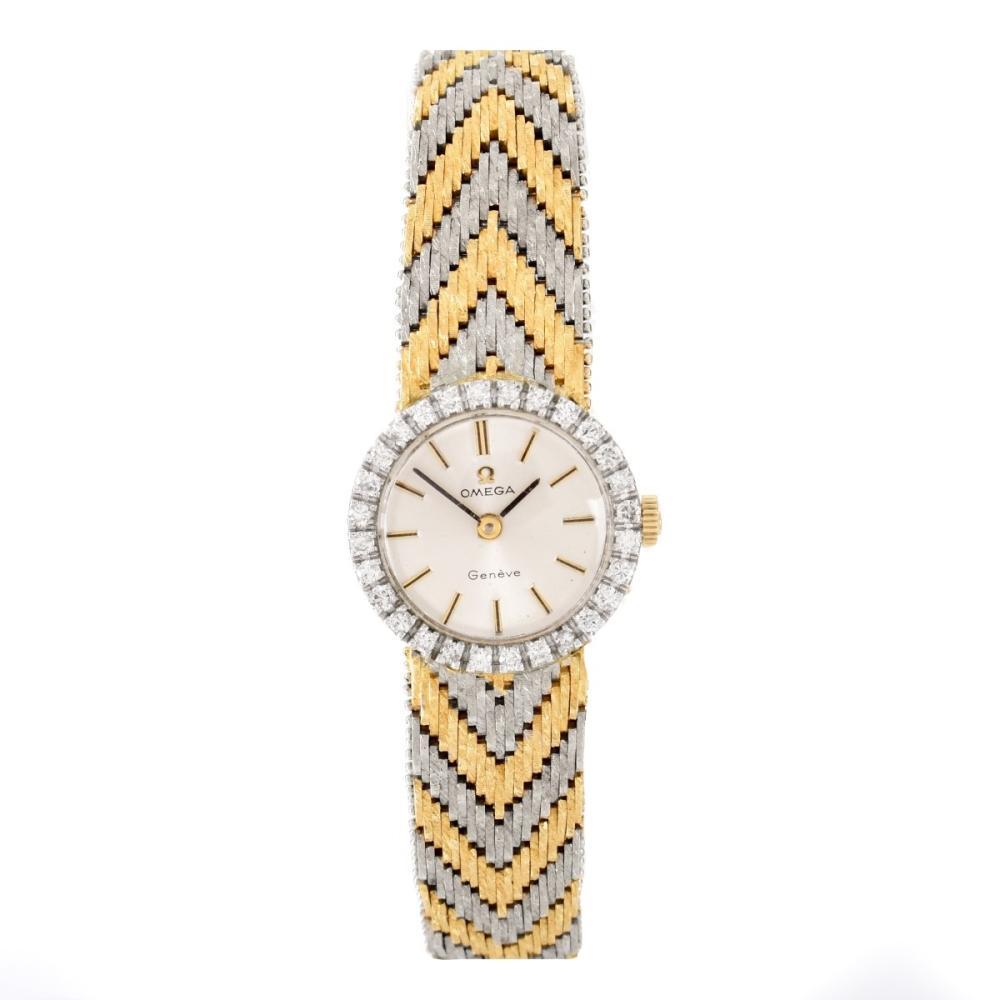 Lady's Vintage Omega 18K Watch