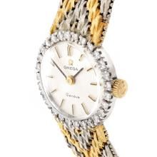 Lot 25: Lady's Vintage Omega 18K Watch
