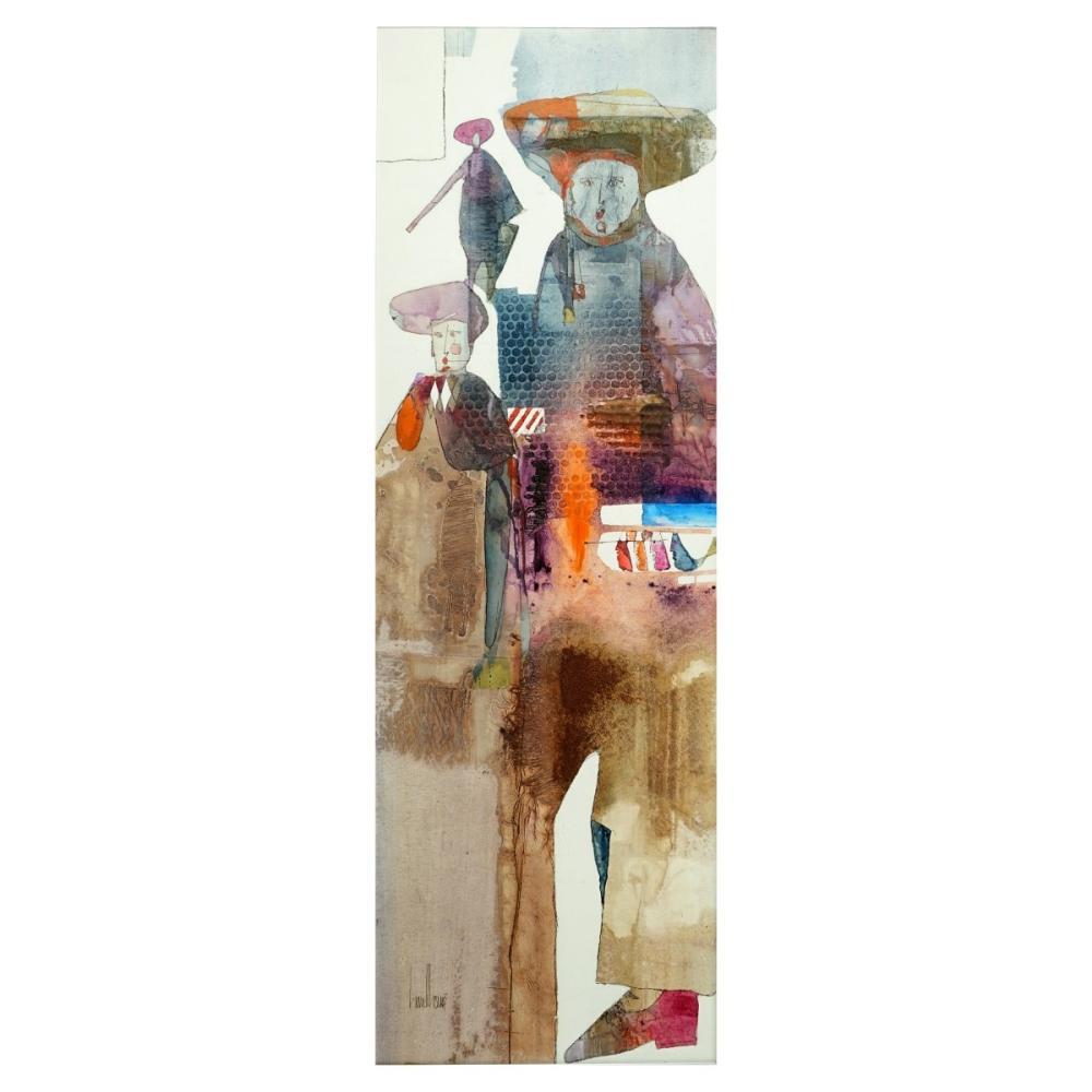 Gregory Hawthorne 20th C Acrylic on Board