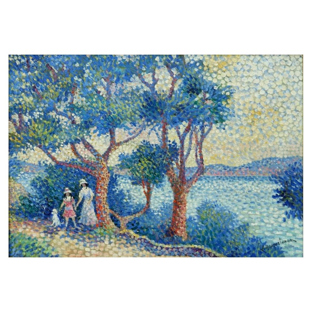 Lucien Neuquelman (1909-1988) Oil On Canvas