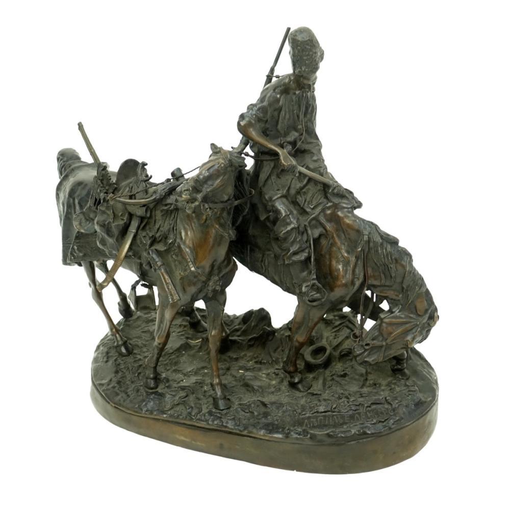 Lanceray Bronze Sculpture