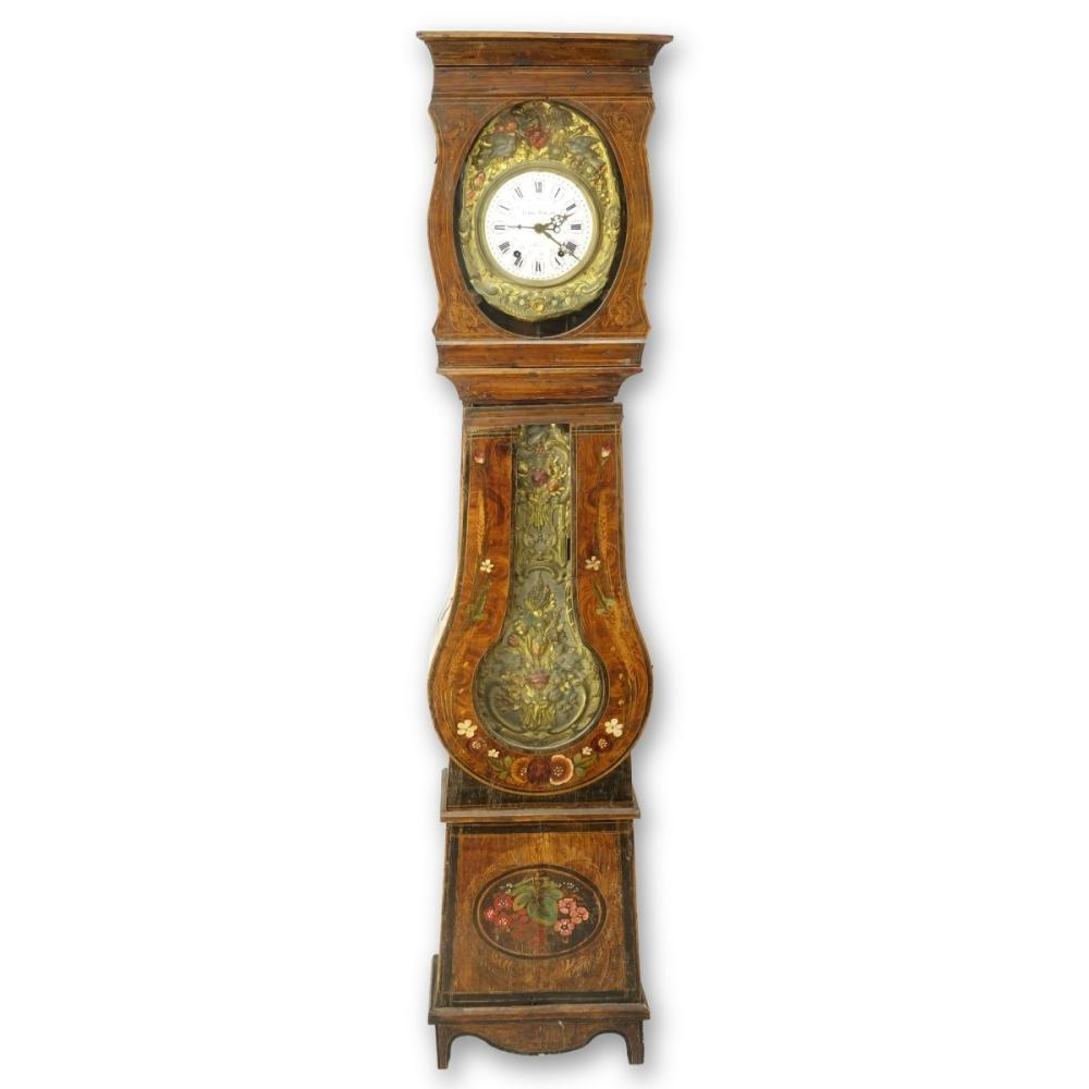 French Morbier Clock
