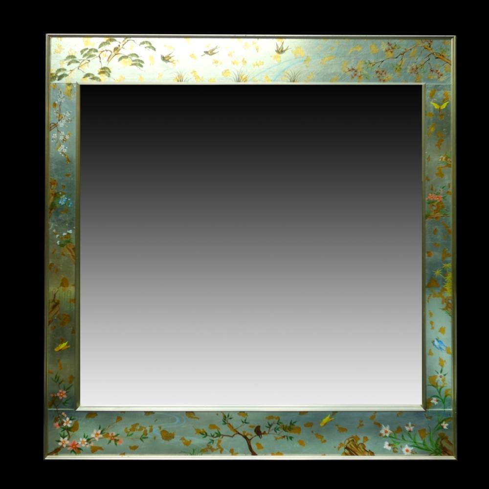 LaBarge Eglomise Mirror